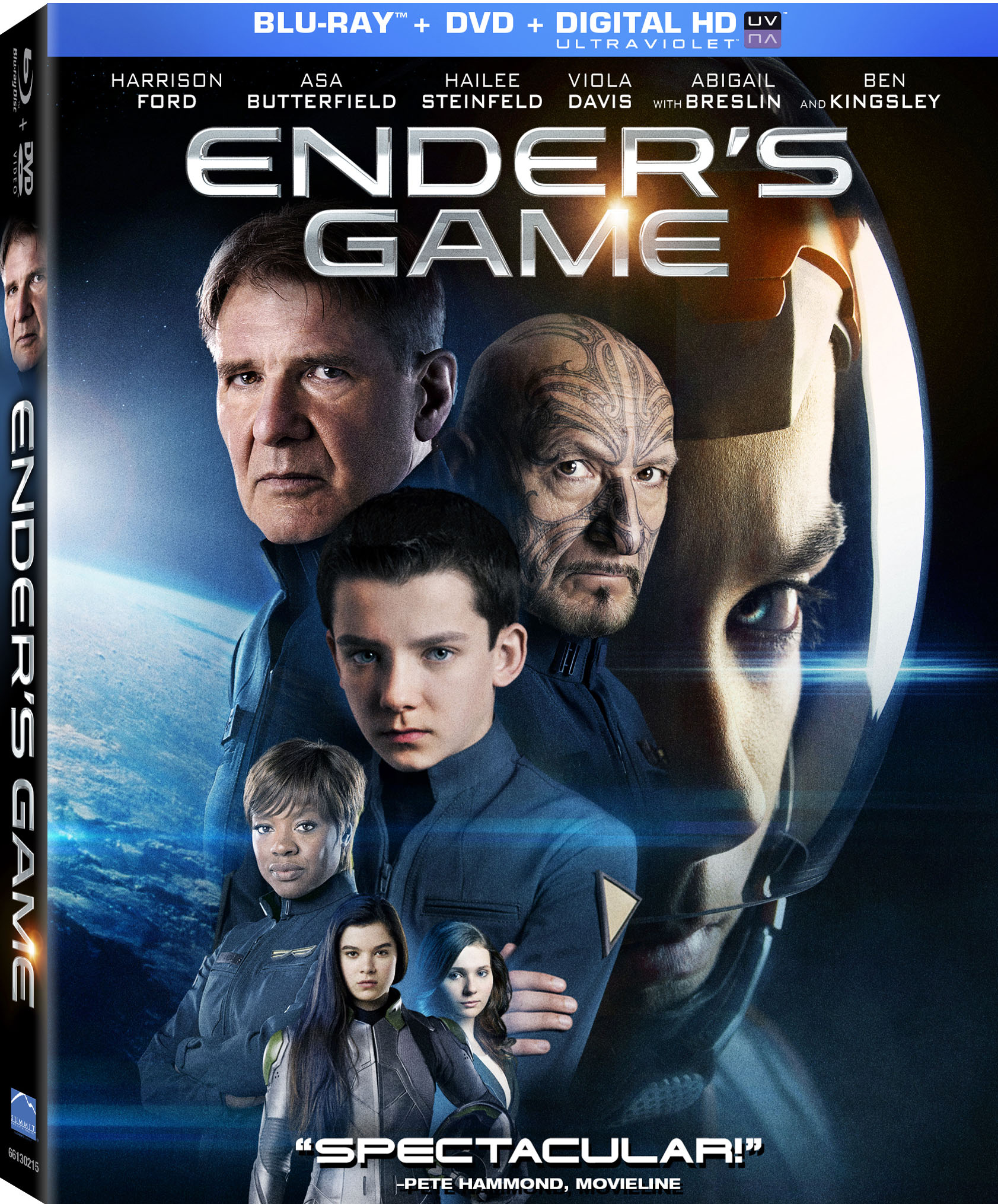 Exclusive: Ender's Game Blu-ray Announcement and Preview