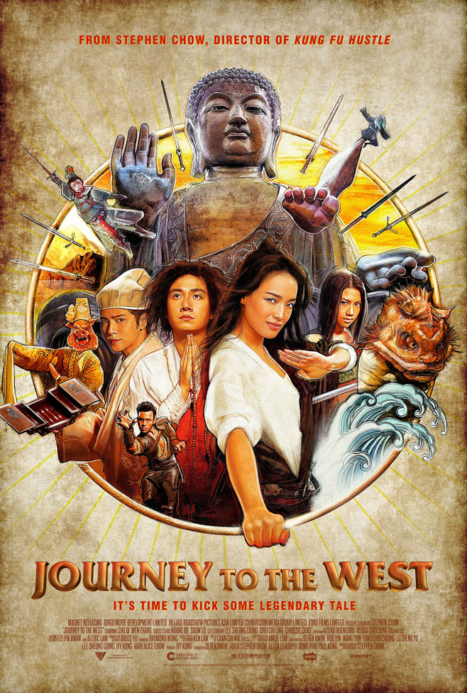 Journey to the West Poster Standard Resolution