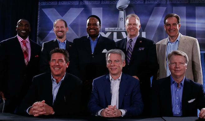 Super Bowl XLVII Broadcasters Press Conference