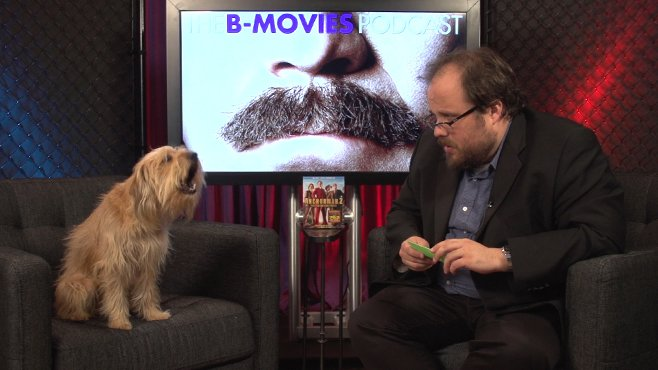 Anchorman 2 Baxter Interview B-Movies Podcast