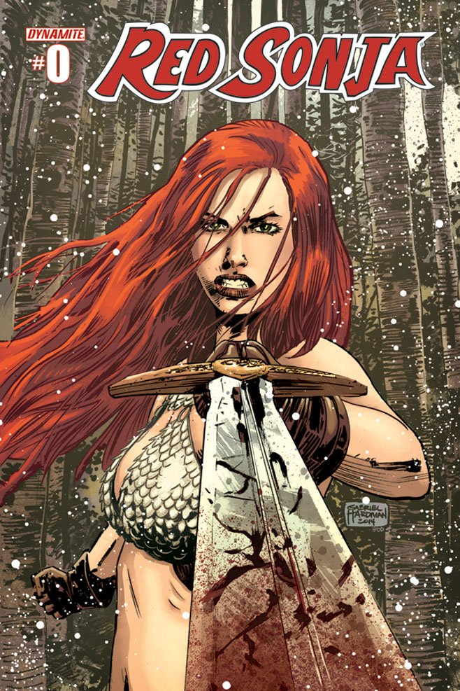 Red Sonja 0 Cover
