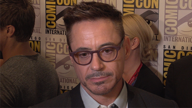 Robert Downey Jr The Avengers Age of Ultron Comic-Con 2014