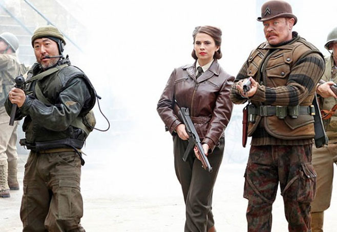 Agent Carter on Agents of SHIELD