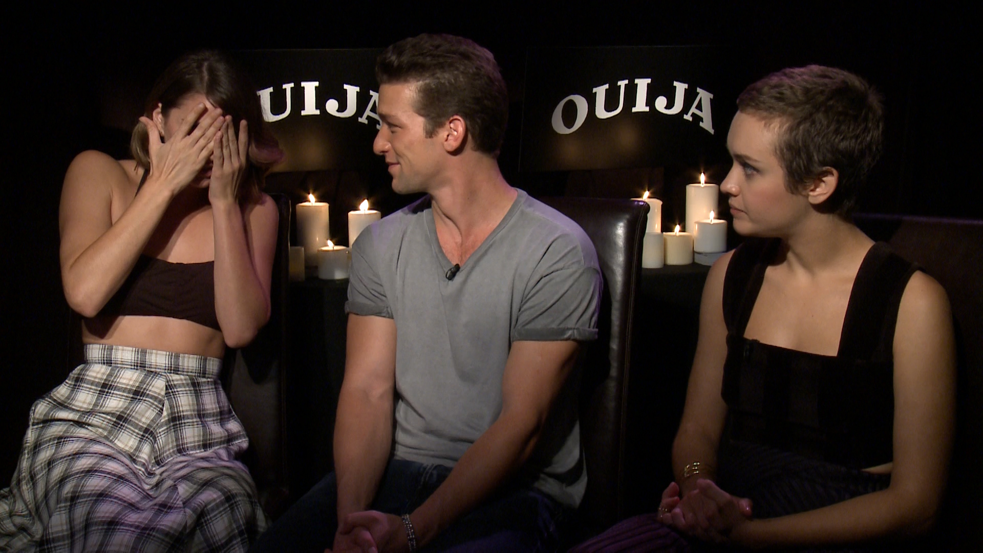 Ouija Exclusive Cast Interview Video Mandatory The village, a show about residents of a brooklyn apartment building who become each. ouija exclusive cast interview video