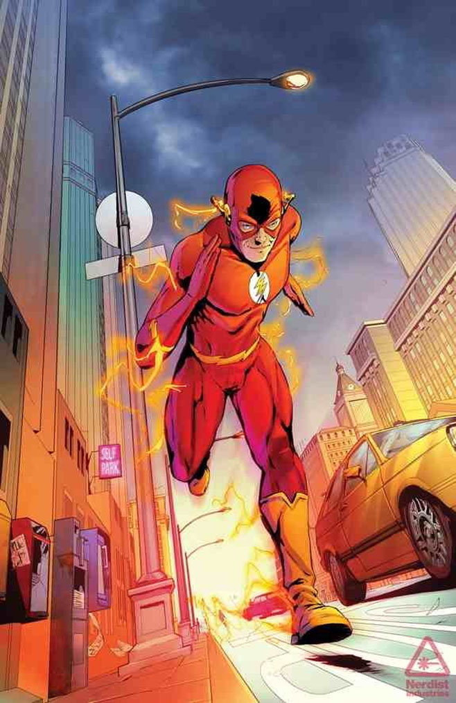 The Flash 80s Convergence