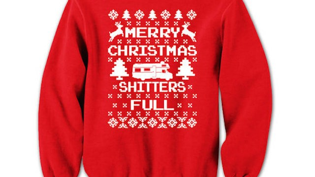 7. Christmas Vacation Sweater