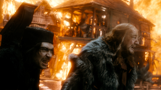 The Hobbit The Battle of the Five Armies Alfrid Master of Laketown Stephen Fry