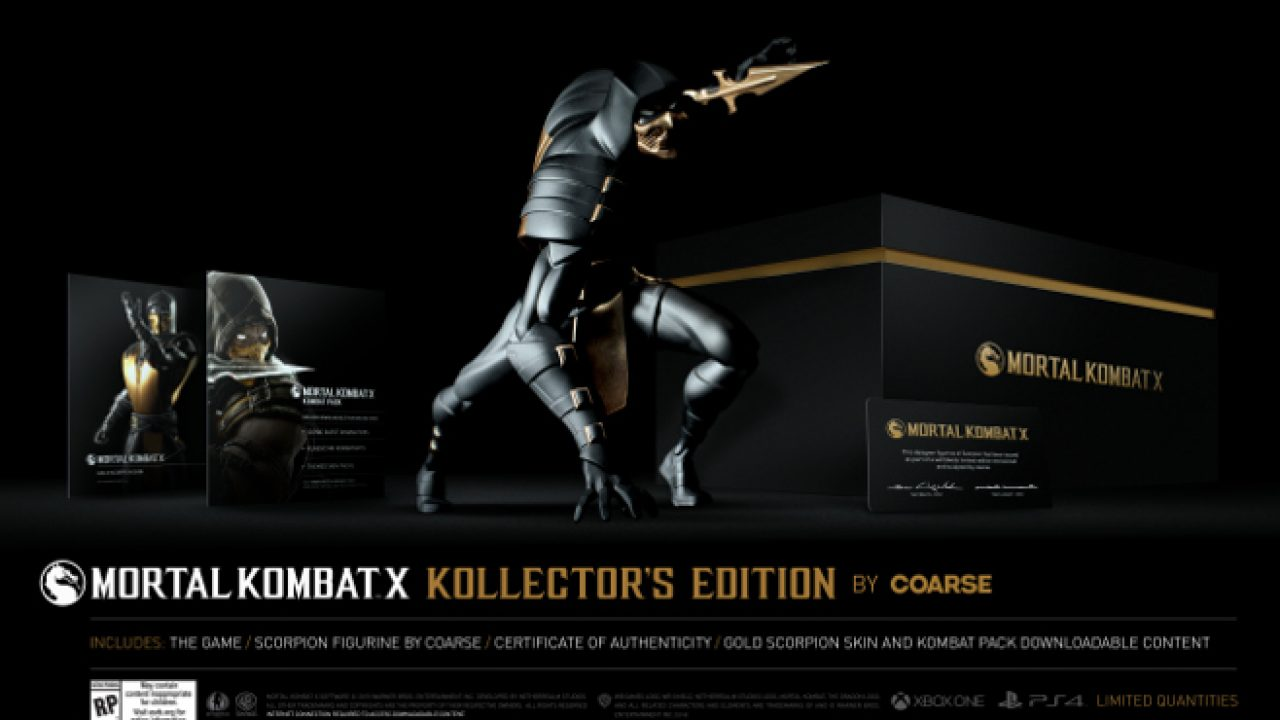 Mortal Kombat X Kollector S Edition Contains This Awesome Scorpion
