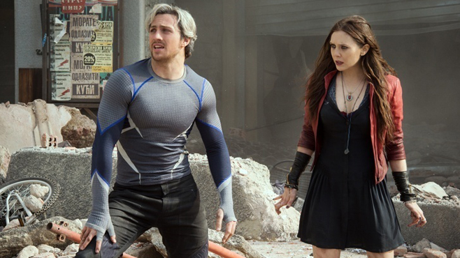 Avengers Age of Ultron Aaron Taylor-Johnson Scarlet Witch