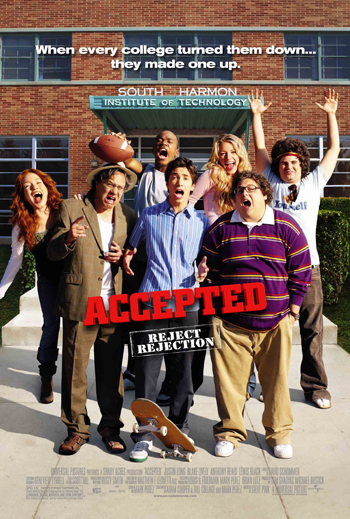 Accepted Poster Lewis Black Justin Long Blake Lively Jonah Hill