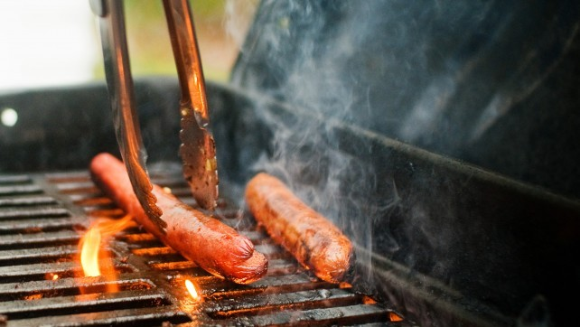 grill-hot-dog