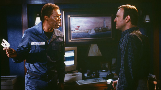 Samuel L Jackson The Negotiator Kevin Spacey