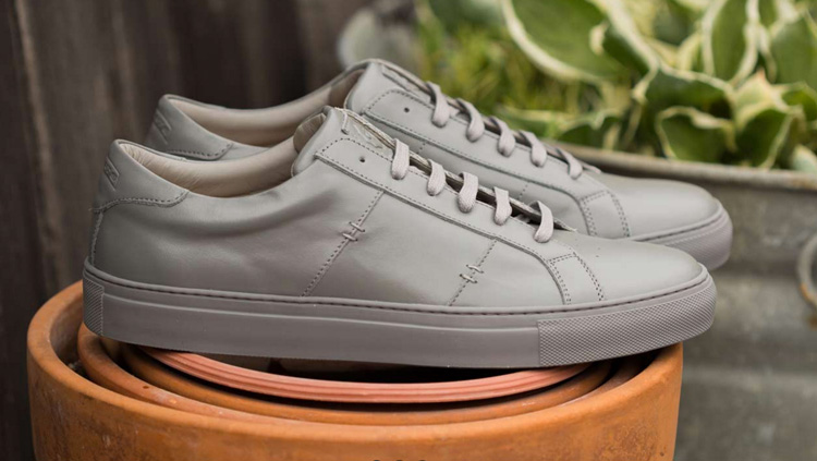 Stylish Grey Sneakers Make Up for Grey