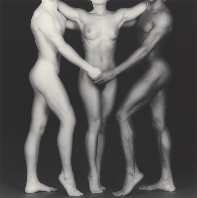 Robert Mapplethorpe American, 1946–1989. Ken and Lydia and Tyler, 1985 Gelatin silver print Image: 38.4 x 38.2 cm (15 1/8 x 15 1/16 in.) Jointly acquired by the J. Paul Getty Trust and the Los Angeles County Museum of Art, with funds provided by the J. Paul Getty Trust and the David Geffen Foundation, 2011.7.19