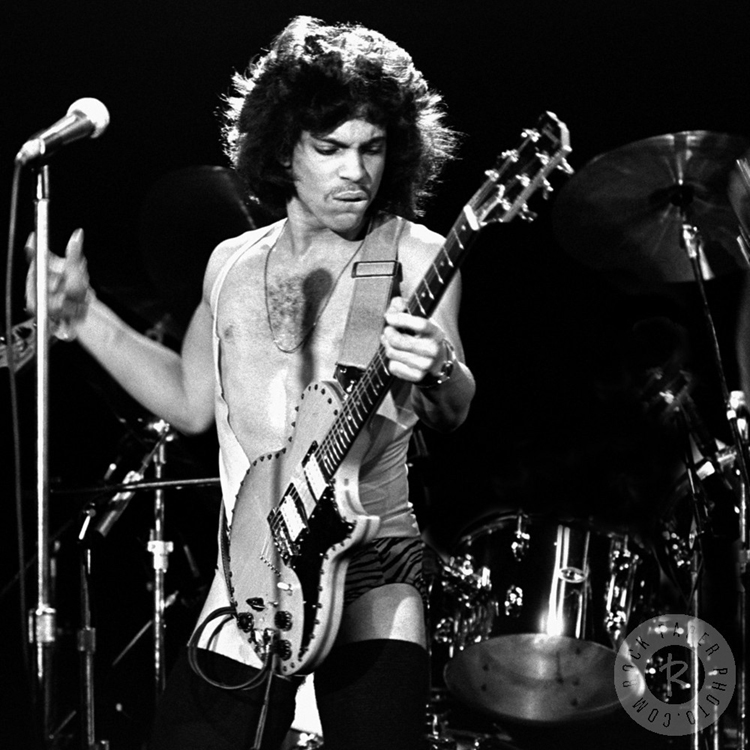 Prince in concert. Photo by Richard E. Aaron.