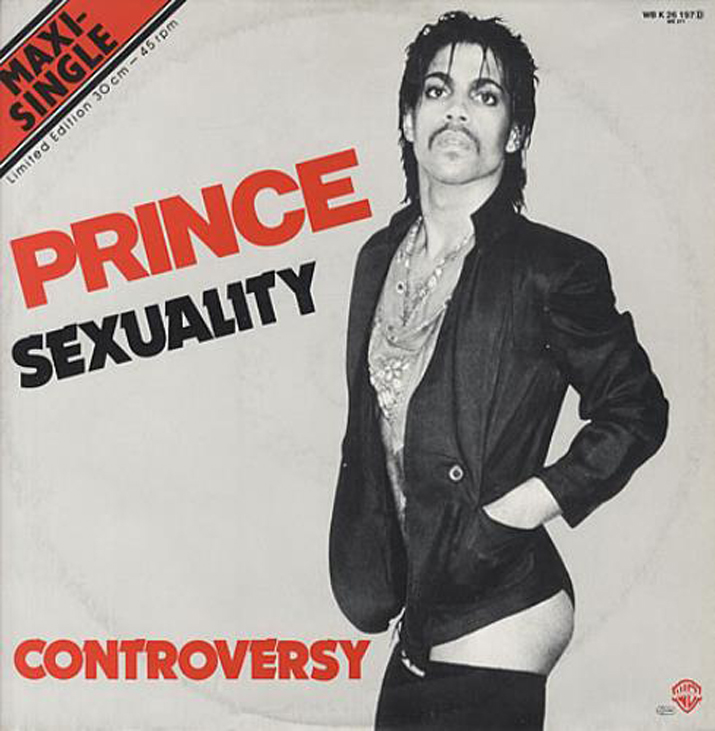 """The sleeve for """"Sexuality"""" single."""