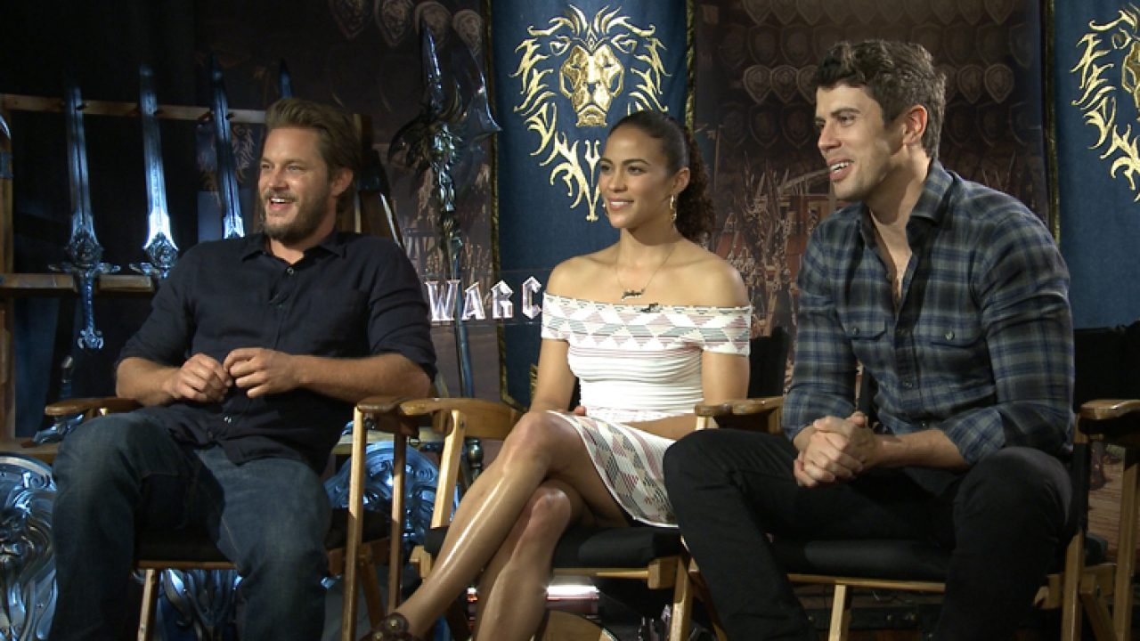 Exclusive Video Travis Fimmel Paula Patton Toby Kebbell On