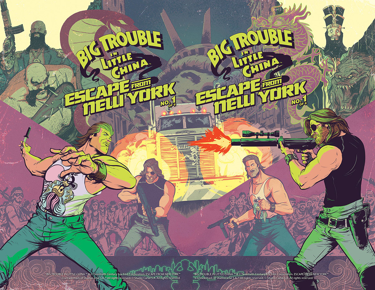 Big Trouble in Little China Escape from New York