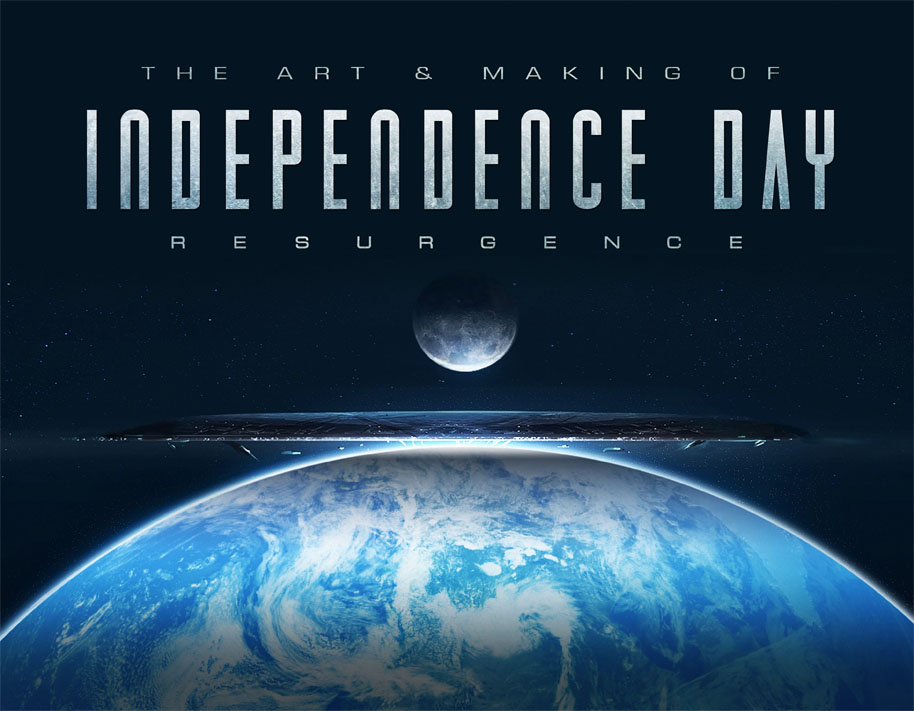 The Art and Making of Independence Day Resurgence cover