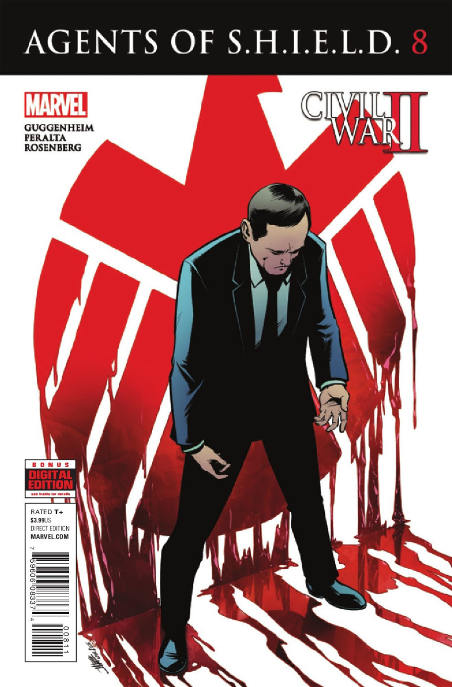 Agents of SHIELD 8 Cover