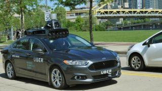 Uber first tested its driverless app with Ford. Photo courtesy of Uber.