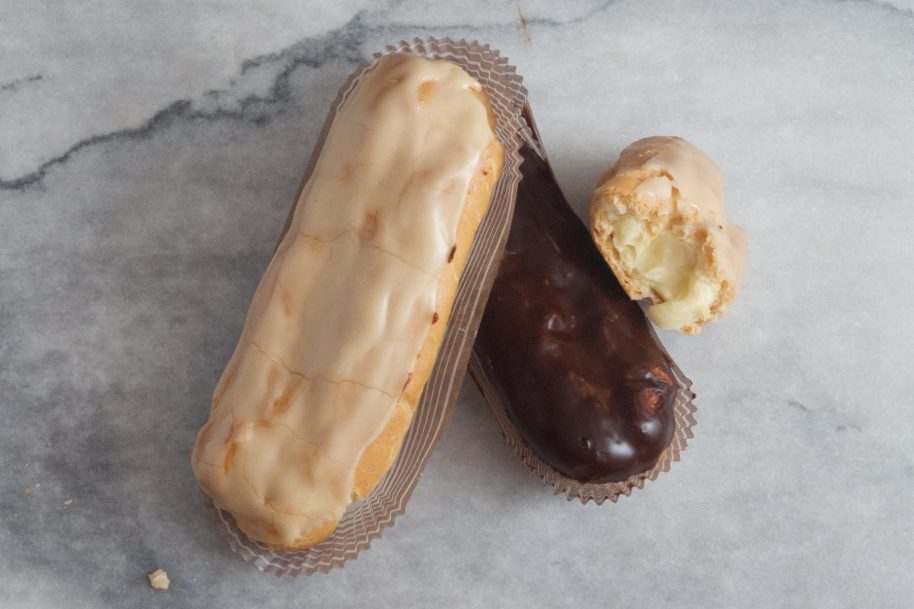 Photo: Maple Eclair at Dahlia Bakery in Seattle.
