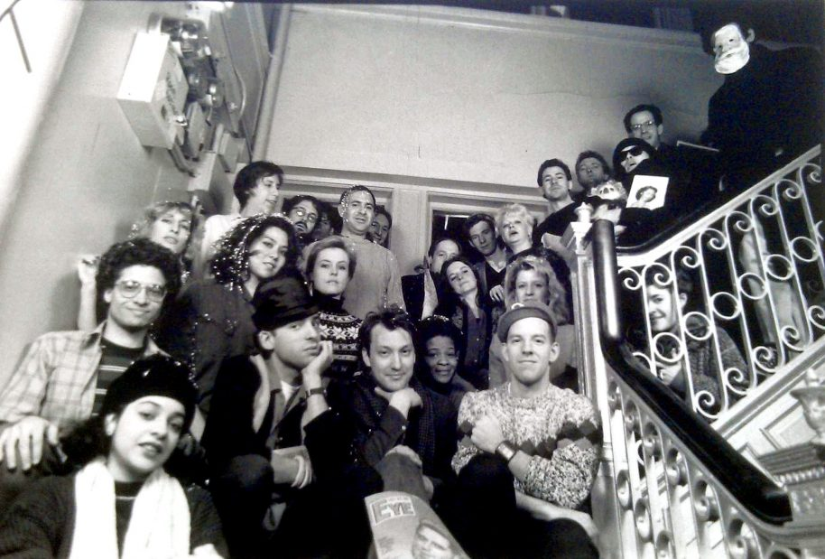 The East Village Eye group photo