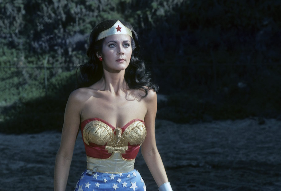 """WONDER WOMAN - """"Formula 407"""" - Airdate: January 22, 1977. (Photo by ABC Photo Archives/ABC via Getty Images)LYNDA CARTER"""