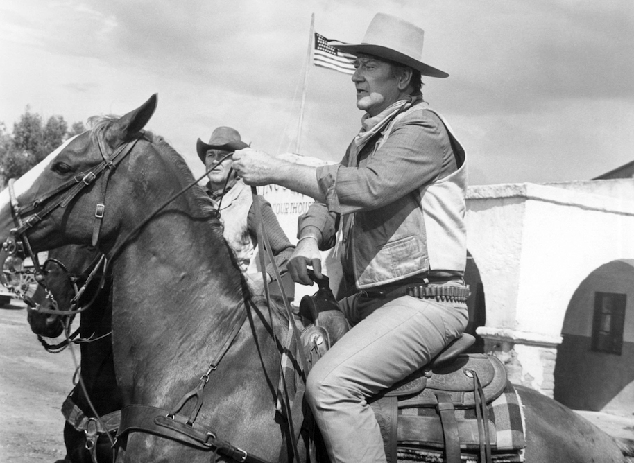 American actor John Wayne (1907 - 1979) as Colonel Cord McNally in 'Rio Lobo', directed by Howard Hawks, 1970. (Photo by Silver Screen Collection/Getty Images)