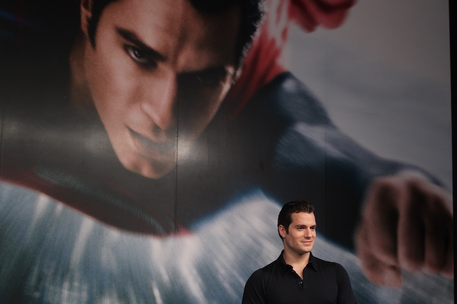 SHANGHAI, CHINA - JUNE 20: (CHINA OUT) Actor Henry Cavill attends 'Man of Steel' press conference during the 16th Shanghai International Film Festival at Peninsula Hotel on June 20, 2013 in Shanghai, China. (Photo by VCG/VCG via Getty Images)