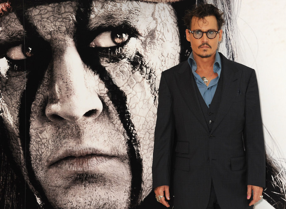 (EMBARGOED FOR PUBLICATION IN UK TABLOID NEWSPAPERS UNTIL 48 HOURS AFTER CREATE DATE AND TIME. MANDATORY CREDIT PHOTO BY DAVE M. BENETT/WIREIMAGE REQUIRED) attends the UK Premiere of 'The Lone Ranger' at Odeon Leicester Square on July 21, 2013 in London, England.