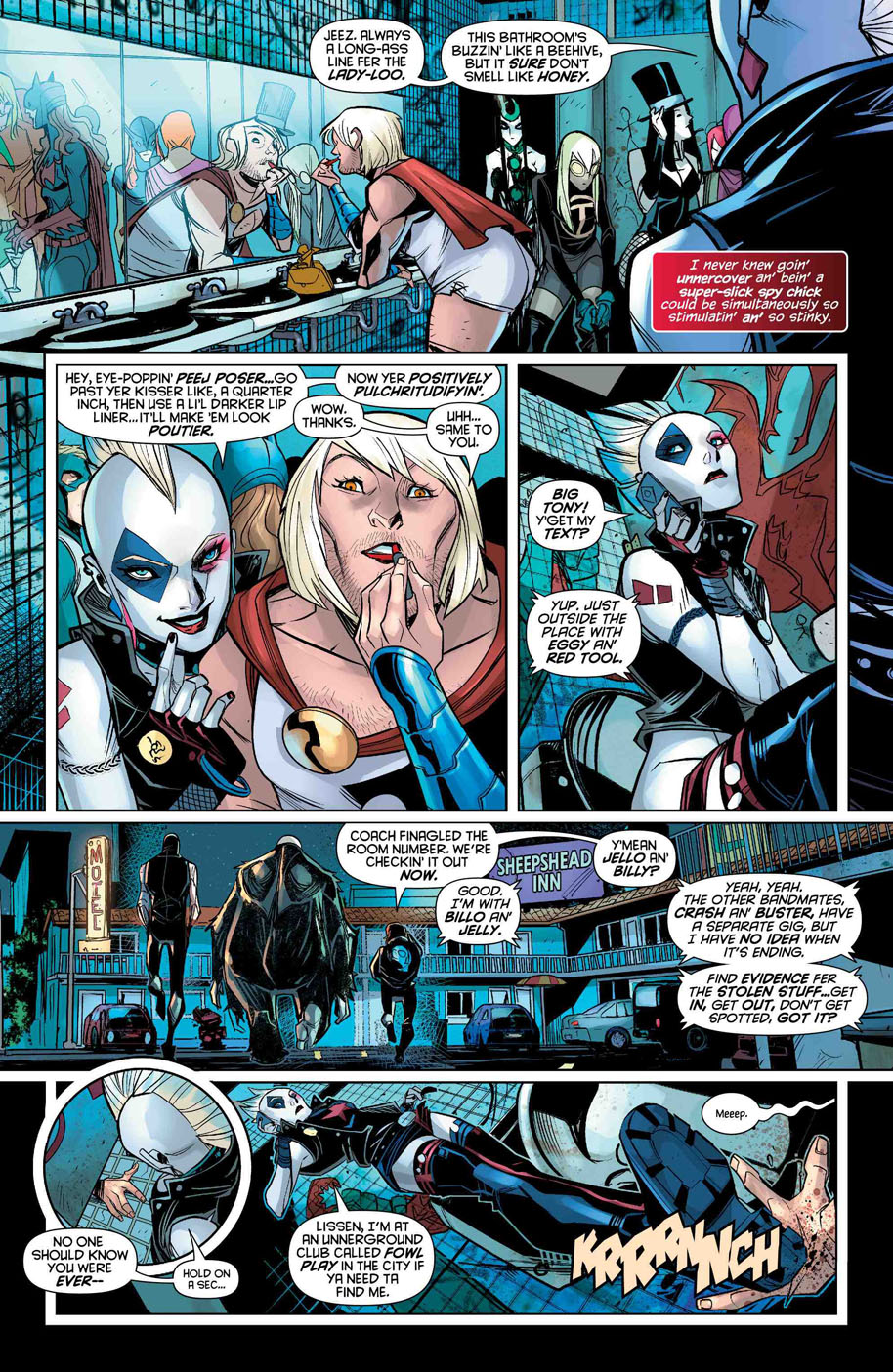 Harley Quinn 7 page 3