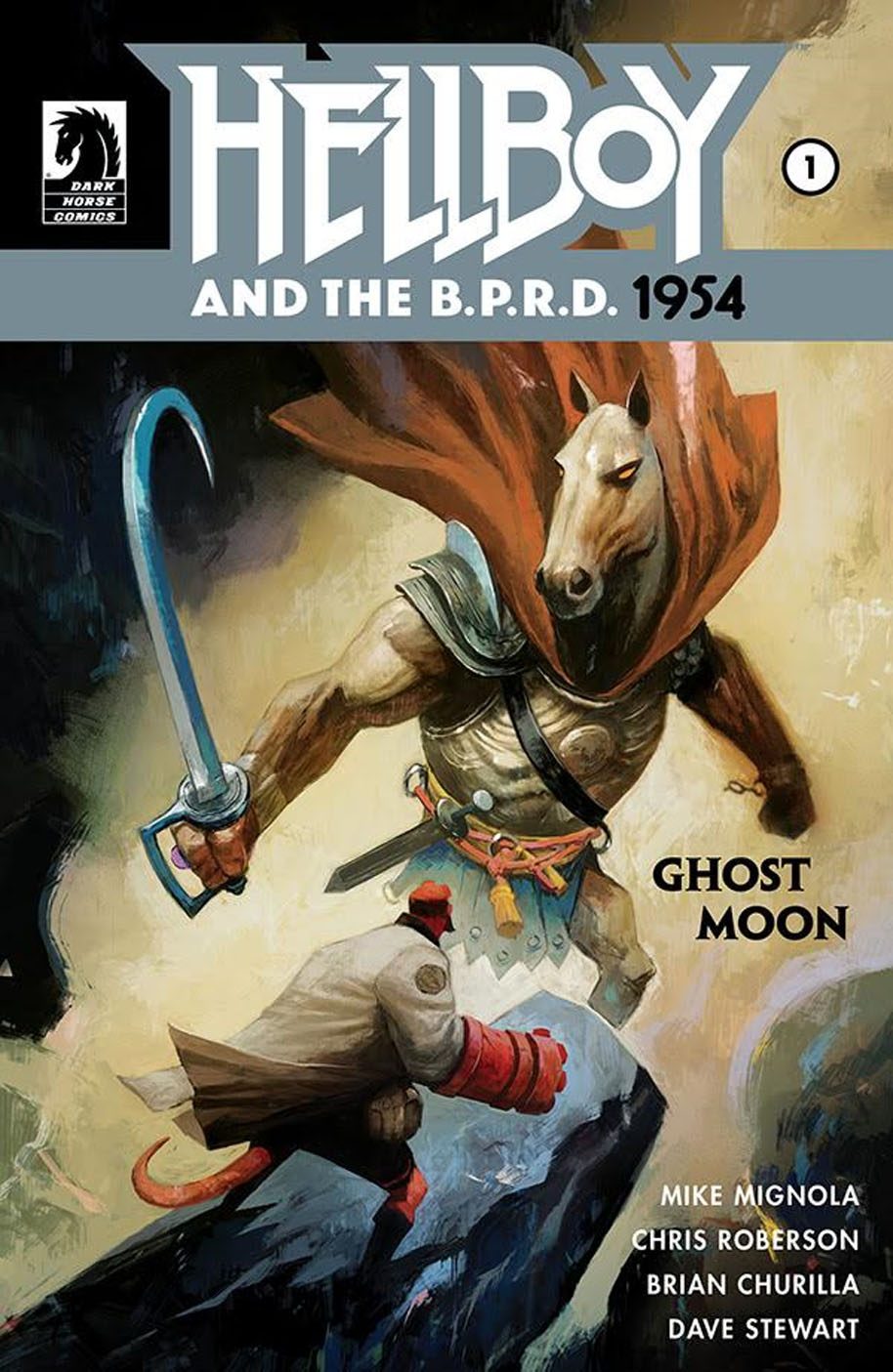 Hellboy and BPRD 1954 1 cover