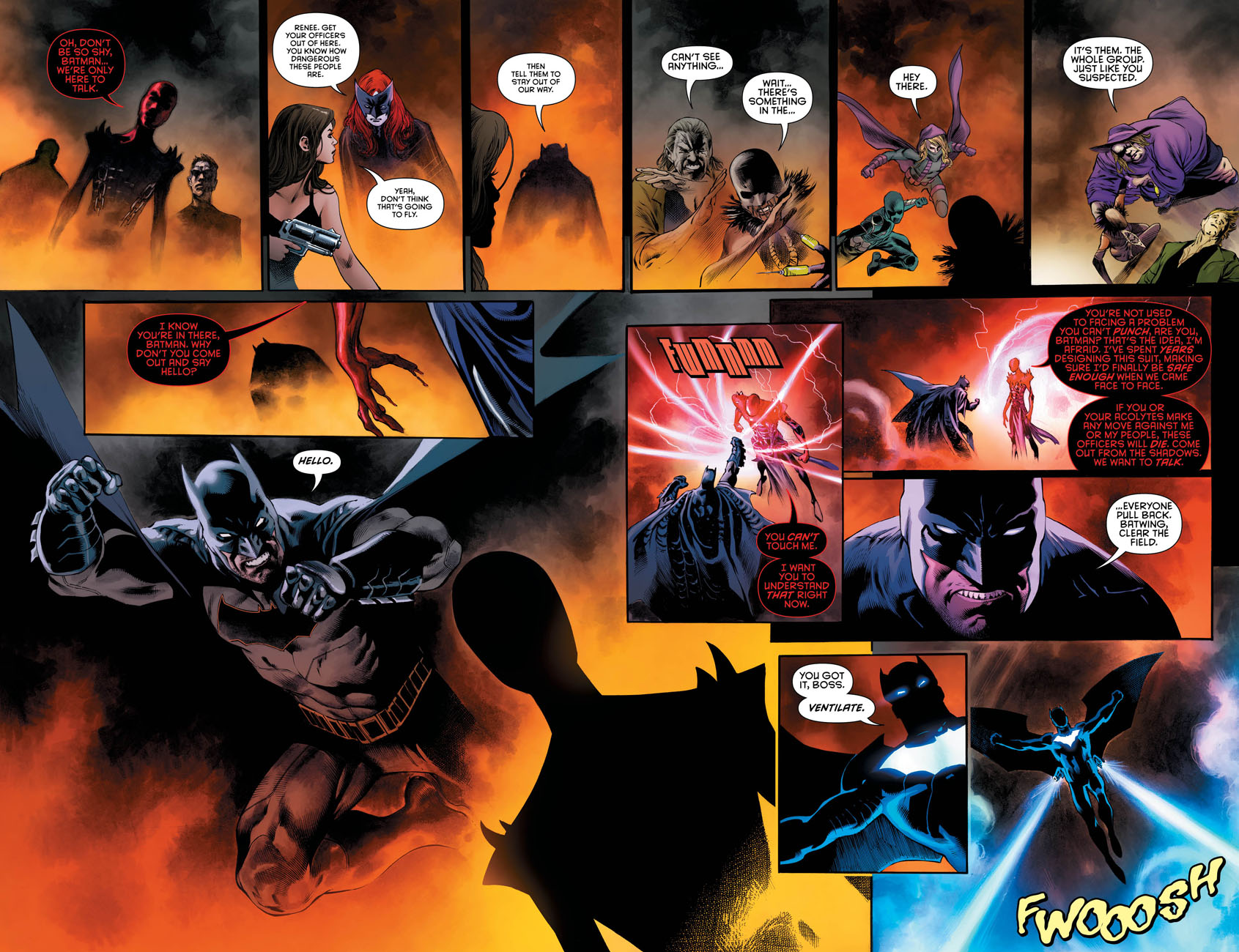 Detective Comics 944 pages 4 and 5