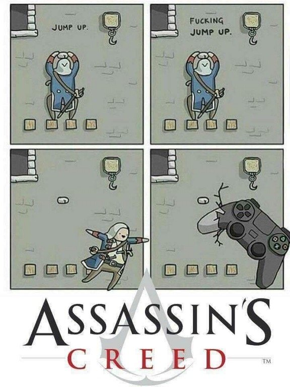 Video games memes - Asssassin's creed