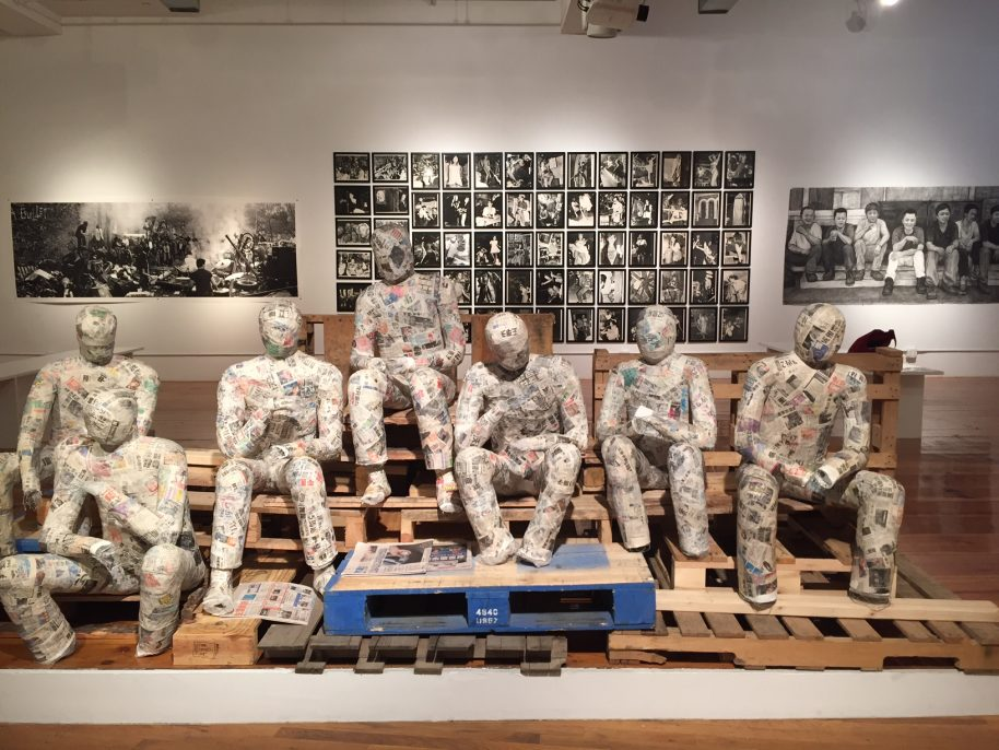 Toyo Tsuchiya Immigrant Workers 2019 mixed media dimensions variable