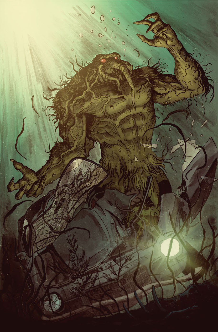 Man-Thing 1 Preview 3