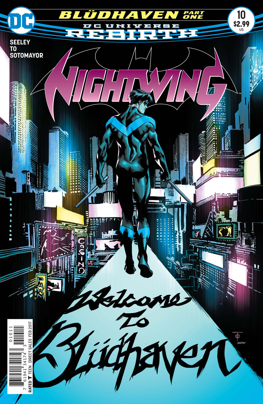 Nightwing 10 cover