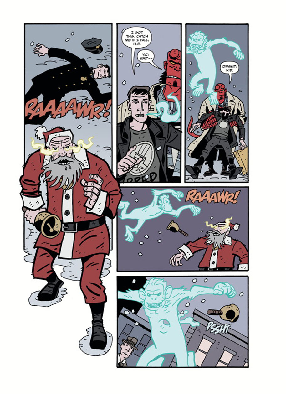 Hellboy Winter Special God Rest Ye page 2
