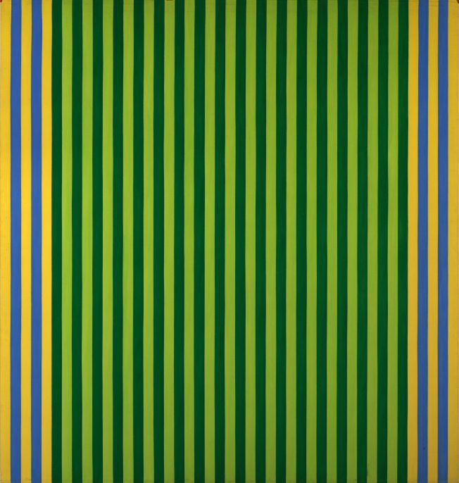 Gene Davis, Limelight/Sounds of Grass, 1960, magna, Smithsonian American Art Museum, Bequest of Florence Coulson Davis