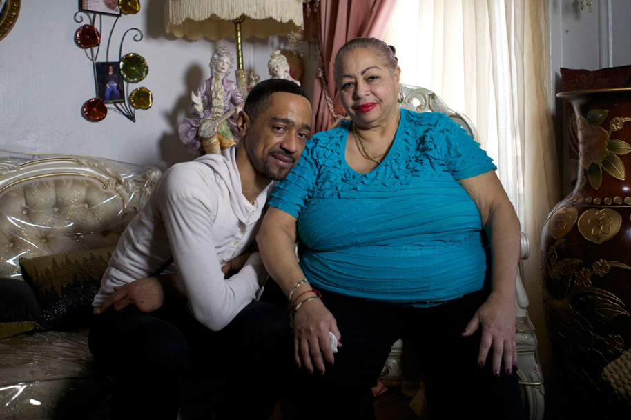 Jose and his mother.