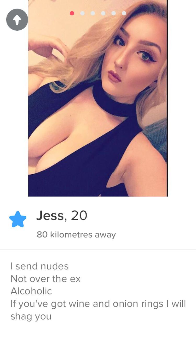 This Tinder Girls Bio Is Nonsense But Her Profile Pic Is