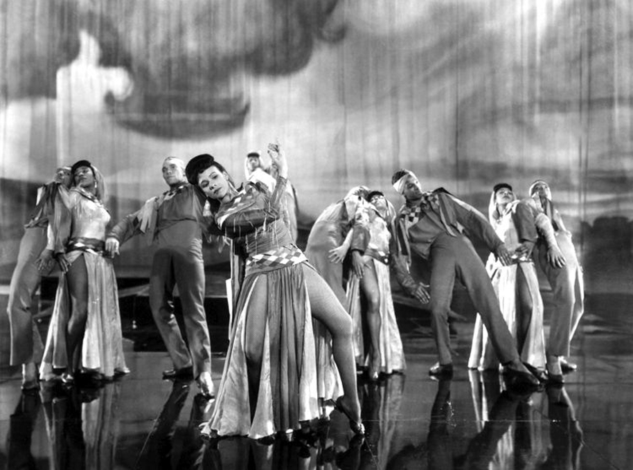 Katherine Dunham in a still from Stormy Weather. Courtesy 20th Century Fox