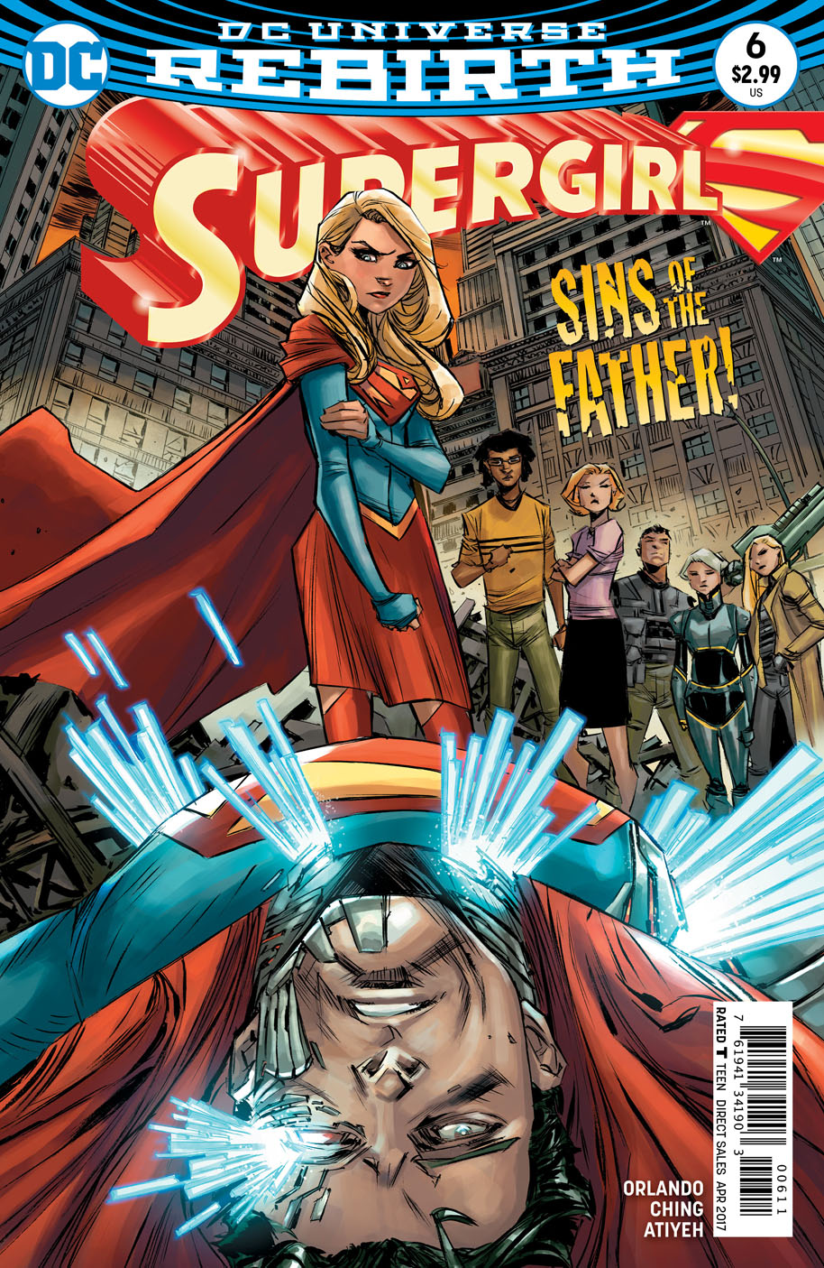 Supergirl 6 cover