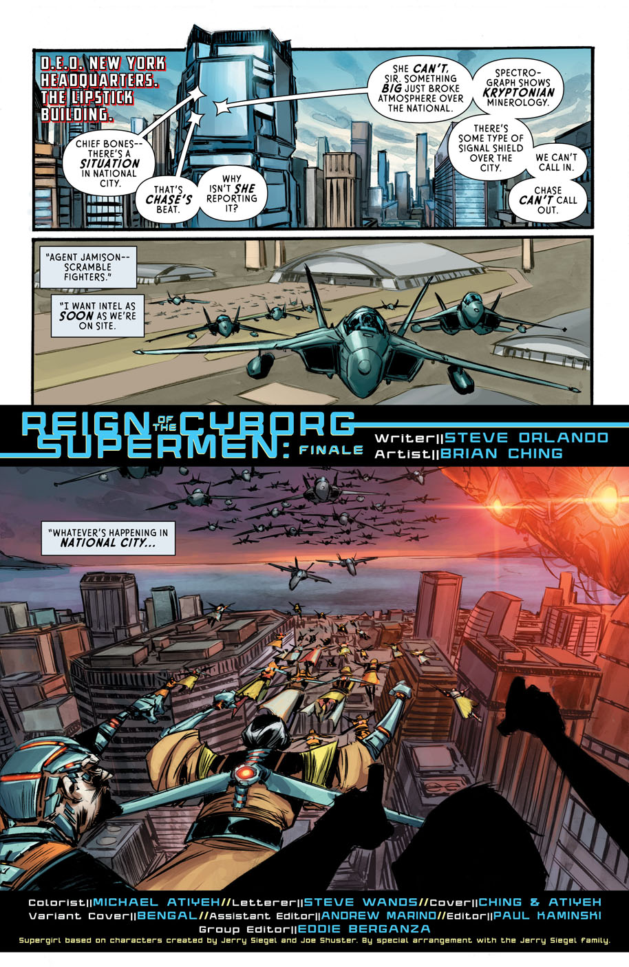 Supergirl 6 page 1
