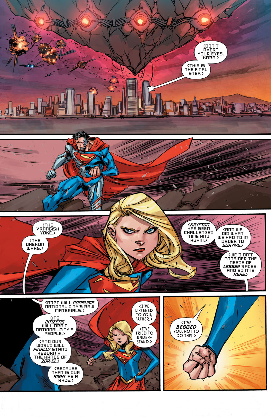 Supergirl 6 page 3