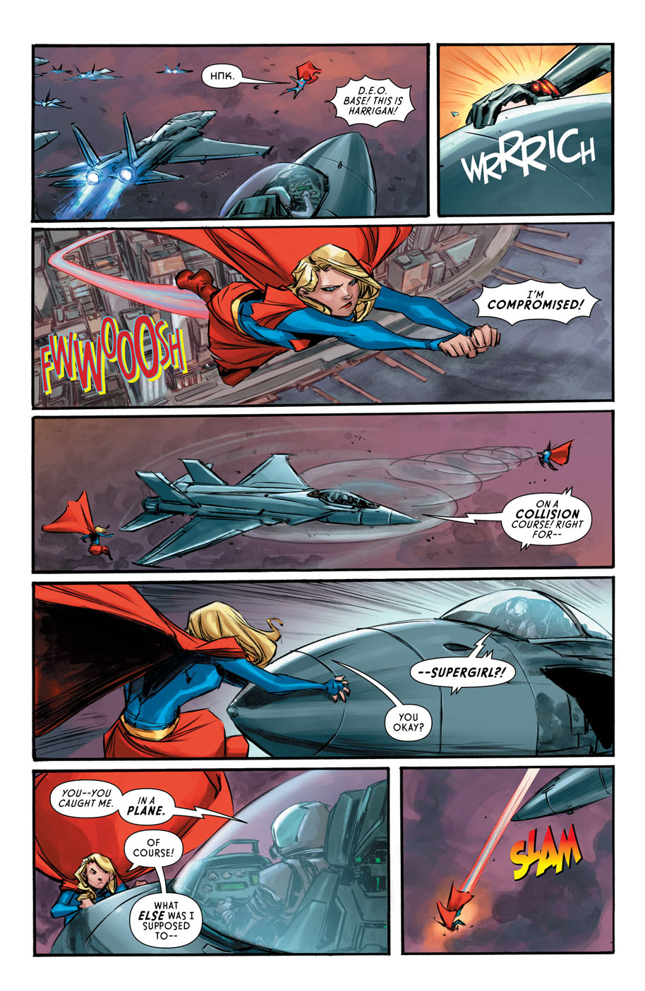 Supergirl 6 page 5