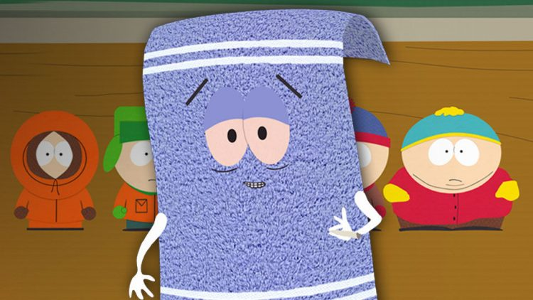 Supporting South Park Characters - Towelie