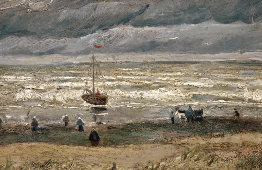 Van Gogh, View of the Sea at Scheveningen