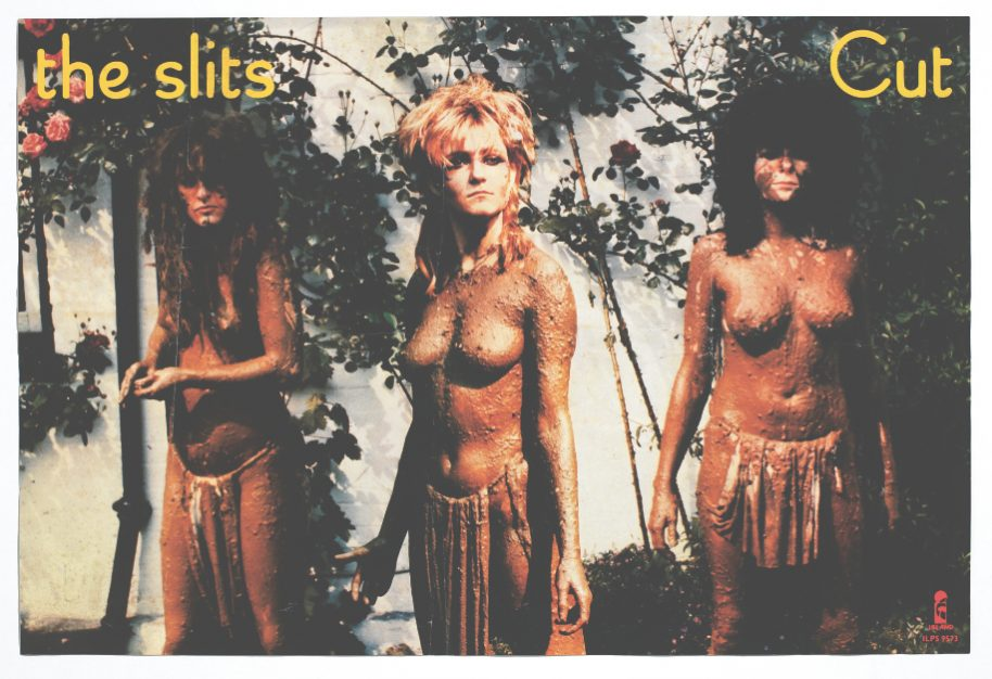 Poster for The Slits' album 'Cut', September 1979, 50.8 x 75.5 cm, 20 x 29¾ in. Courtesy of The Mott Collection